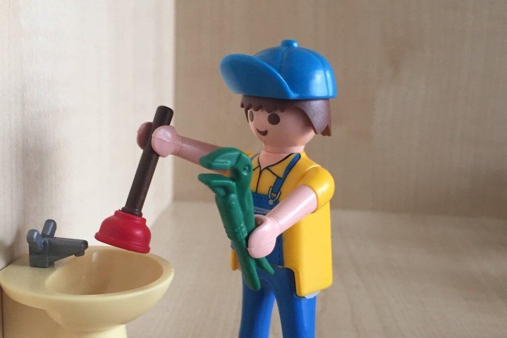 Beispielbild einer Saugglocke für einen Blogbeitrag über Rohrverstopfung